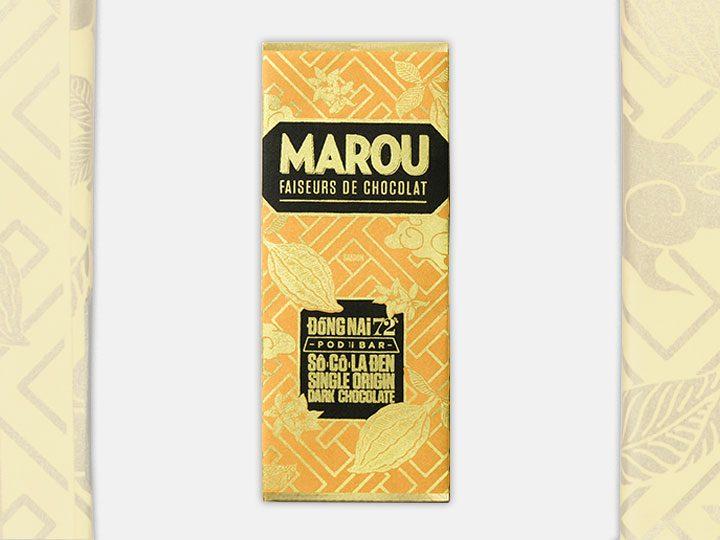 Chocolat Noir Marou – Mini Dong Nai 72% de Cacao