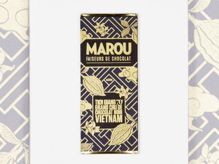 Chocolat Noir Marou – Mini Tien Giang 70% de Cacao
